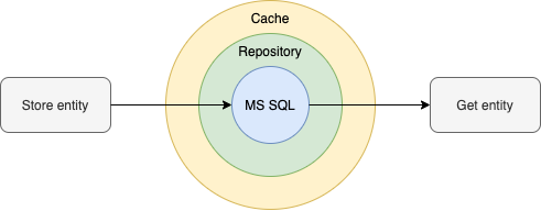 Repository with cache
